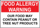 Peanut allergy is one of the most common food allergies.